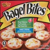 Ore ida, bagel bites, mini bagels, three cheese, three cheese - Product