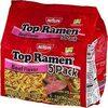 Top ramen beef flavor - Product