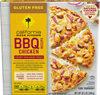 Gluten free bbq chicken frozen pizza - Product