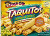Flour tortilla chicken & cheese tacquitos - Product