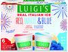 Luigi's Blue raspberry & lemon swirl - Producto