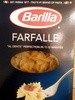 Farfalle pasta, enriched macaroni product - Producto