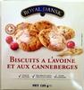 Biscuits à l'avoine et aux canneberges - Product