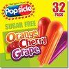 Ice Pops, Sugar Free, Orange, Cherry, Grape - Product