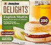 Delights turkey sausage egg whites - Produkt