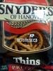 Thins pretzels - Product