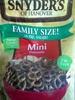 Snyder's of hanover, mini pretzels - Product