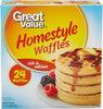 Waffles, Homestyle - Produit