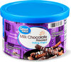 Milk chocolate flavored melting wafers - Product