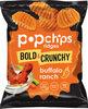 Pop chips ridges hot buffalo ranch bold & crunchy - Product