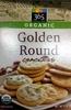 Golden round crackers, golden round - Product