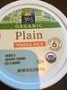 Whole milk organic yogurt - Product