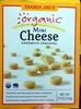 Organic mini cheese sandwich crackers - Produit