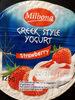 Greek style yogurt strawberry - Product