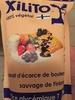 Xilito 100% végétal - extrait d'écorce de bouleau sauvage de Finlande - Produit