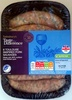 6 toulouse inspired pork sausages - Produit