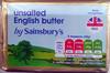 Unsalted English Butter - Produit