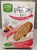 Biscuits p'tit dej bio - Product