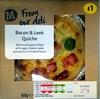 Bacon & Leek Quiche - Prodotto