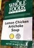 Lemon Chicken Artichoke Soup - Product
