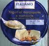 Yogurt al marzepane e mandorle - Produit
