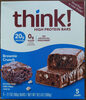 High protein brownie crunch bars - Product