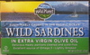 Lightly smoked wild sardines in extra virgin olive oil, lightly smoked - Product