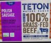100% Grass-Fed Beef Polish Sausage - Product