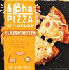 The alpha classic mozza plant based pizza - Product