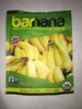 Organic original chewy banana bites - Produit