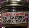 Foie gras entier de canard mi-cuit - Prodotto