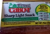 Sharp Light Snack Natural Vermont Cheddar Cheese - Product