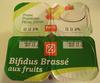 Bifidus brassé aux fruits - Produit