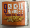 9 Chicken McNuggets - Prodotto