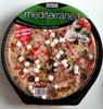 Pizza mediterránea - Producto