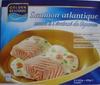 Saumon atlantique sauce à l'émincé de légumes, Surgelé - Produit