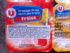 Fromage frais sucré aux fruits Fraise - Produit