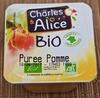 Purée Pommes Bio - Produit