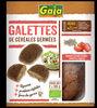 Galettes de haricots blancs germés, tomate et basilic - Product