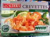 Crevettes nature surgelées - Product