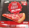 Lidl Trattoria Alfredo double pepperoni pizza - Product