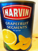 grapefruit segments in syrup - Product
