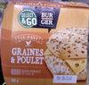 Burger pavé graines et poulet - Produit
