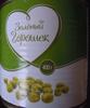 Зелёный горошек - Produit