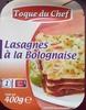 Lasagne Bolognese mit Käse überbacken - Produit