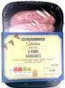 6 pork sausages - Product