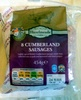 8 cumberland sausages - Product