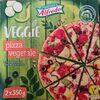 Pizza Veggie with vegetables and black olives - Produkt