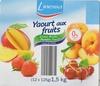 Linessa - Yaourt aux fruits 0% - Cerise, Pêche, Mangue, Fraise - Product