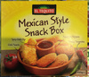 Mexican Style Snack Box - Product